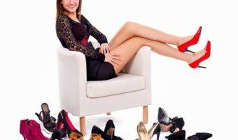 Tipos de sapatos femeninos
