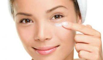 Cremes contorno de olhos com proteção solar
